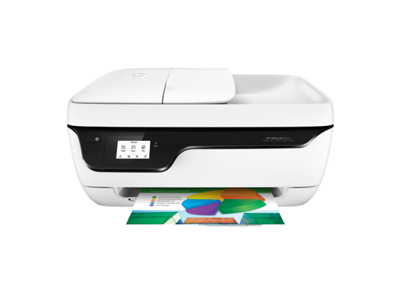 HP OfficeJet 3831 All-in-One Printer - Center