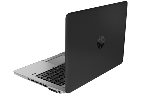 HP EliteBook 840 G2 Notebook PC with Intel® Core™ i3-5010U (2.1GHz, 3MB L3 Cache) Processor, with Intel® HD Graphics 5500 - Left rear