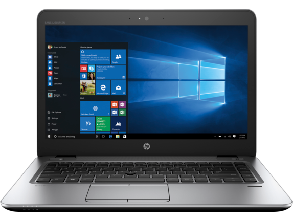 HP EliteBook 840 G3 Notebook PC - Customizable - Center