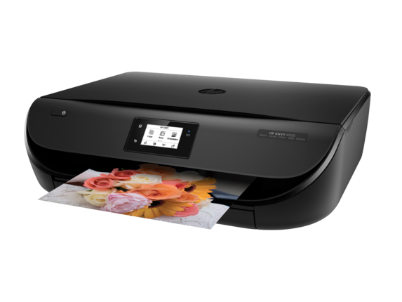 HP ENVY 4520 All-in-One Printer - Left