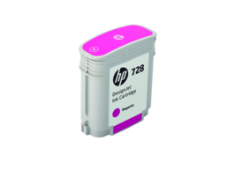 HP 728 40-ml Magenta DesignJet Ink Cartridge
