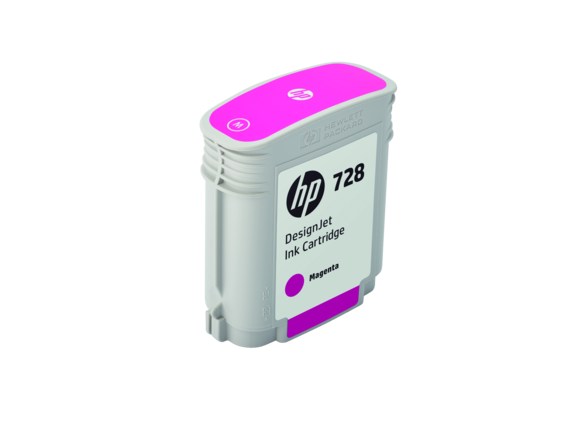 HP 728 40-ml Magenta DesignJet Ink Cartridge - Right