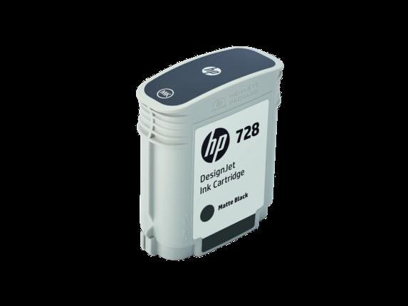 HP 728 69-ml Matte Black DesignJet Ink Cartridge - Right