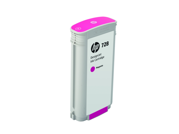 HP 728 130-ml Magenta DesignJet Ink Cartridge - Right