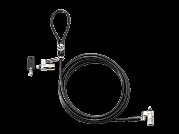 HP Nano Keyed Cable Lock - Center