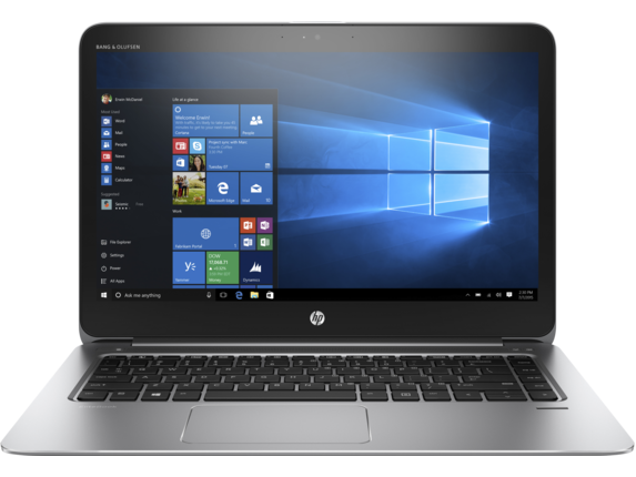 HP EliteBook 1040 G3 Notebook PC (ENERGY STAR) - Center