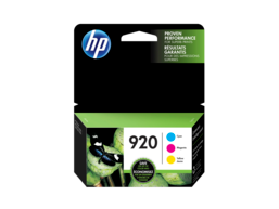 HP 920 3-pack Cyan/Magenta/Yellow Original Ink Cartridges