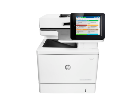 HP Color LaserJet Enterprise MFP M577 serie