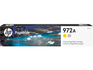 HP 972A Yellow Original PageWide Cartridge