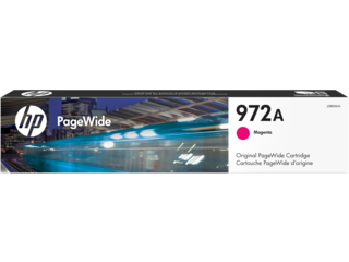 HP 972A Magenta Original PageWide Cartridge