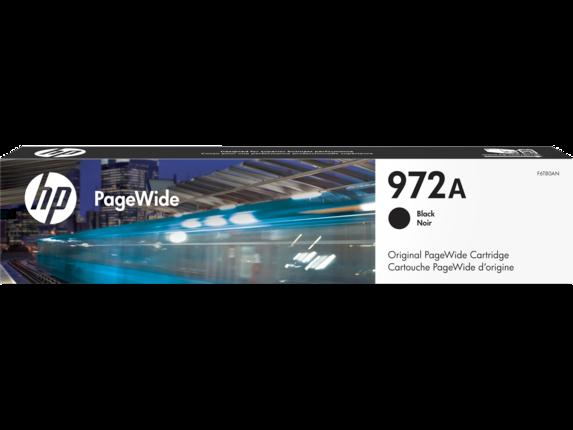 HP 972A Black Original PageWide Cartridge - Center