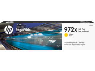 HP 972X High Yield Yellow Original PageWide Cartridge