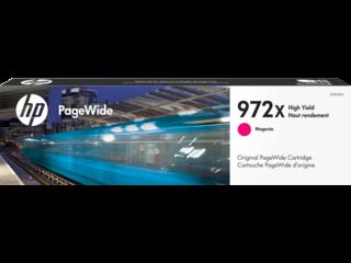 HP 972X High Yield Magenta Original PageWide Cartridge