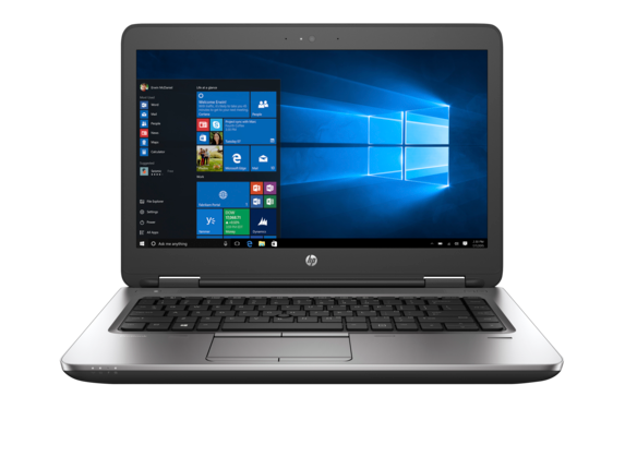 HP ProBook 645 G3 Notebook PC (ENERGY STAR) - Center