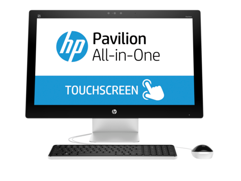 HP Pavilion 27-n000 All-in-One stasjonær PC-serie (Touch)