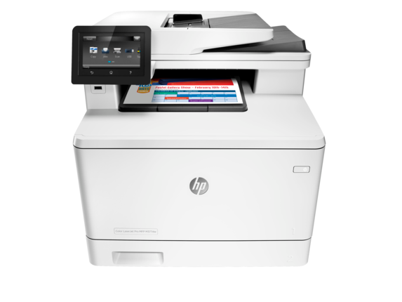 HP Color LaserJet Pro MFP M377dw - Center