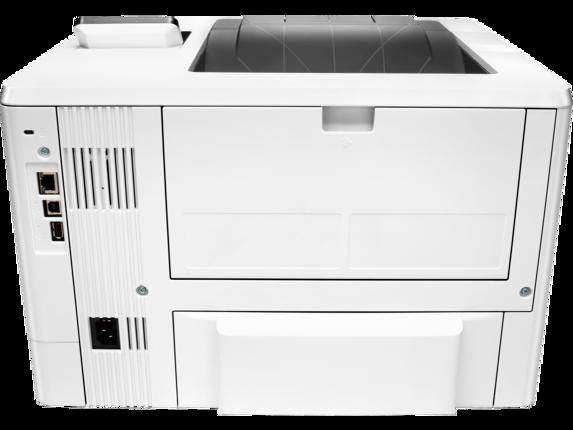 HP LaserJet Pro M501dn - Rear