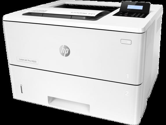 HP LaserJet Pro M501dn - Left