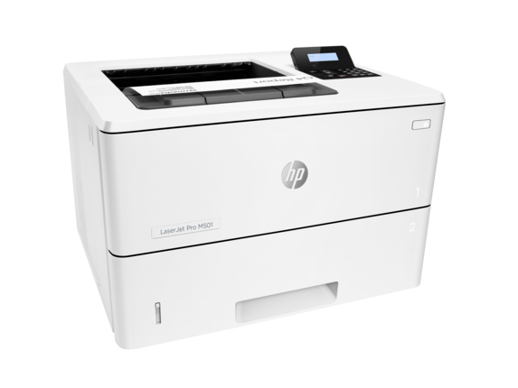 HP LaserJet Pro M501dn - Right