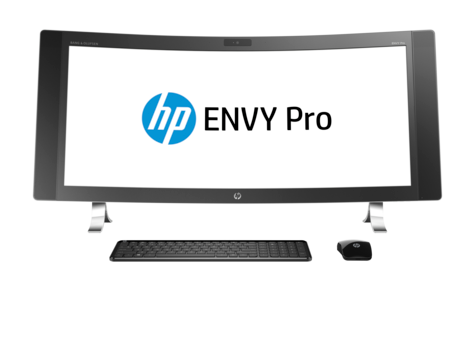 HP ENVY Pro Curved All-in-One Masaüstü Bilgisayar