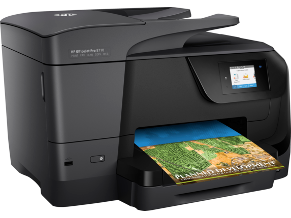 HP OfficeJet Pro 8710 All-in-One Printer - Right