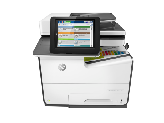 HP PageWide Enterprise Color MFP 586dn | HP® , country:Middle East