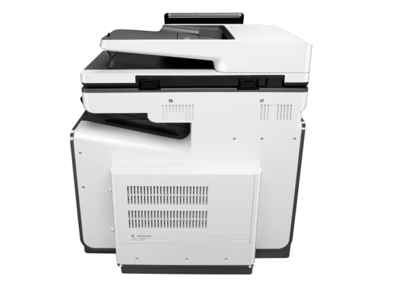 HP PageWide Enterprise Color MFP 586dn - Rear