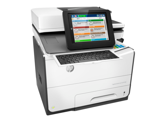 HP PageWide Enterprise Color Flow MFP 586z - Right