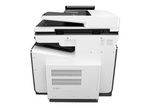 HP PageWide Enterprise Color Flow MFP 586z - Rear