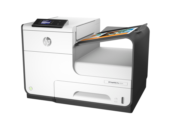 HP PageWide Pro 452dn Printer - Left