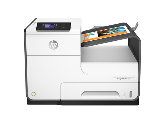 HP PageWide Pro 452dn Printer - Center