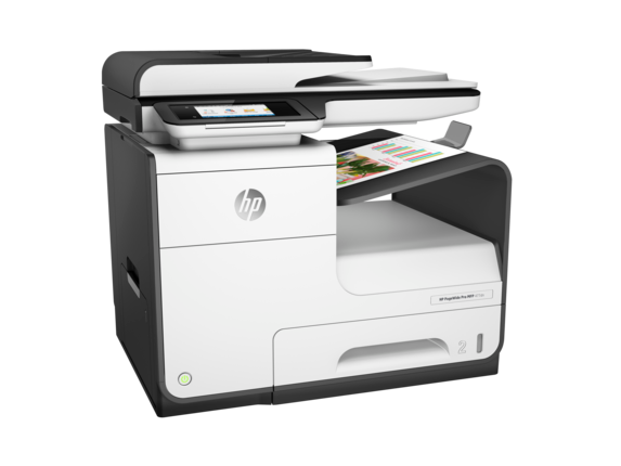 HP PageWide Pro 477dn Multifunction Printer - Right