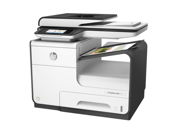 HP PageWide Pro 477dn Multifunction Printer - Left