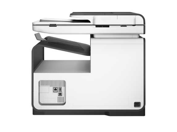 HP PageWide Pro 477dn Multifunction Printer - Rear
