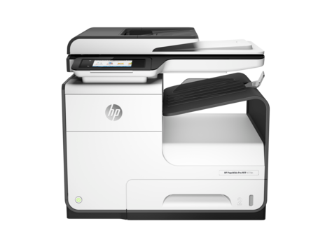 HP PageWide Pro 477dn-multifunktionsprinterserien