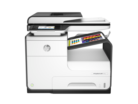 HP PageWide Pro 477dw, multifunktionsskrivarserie