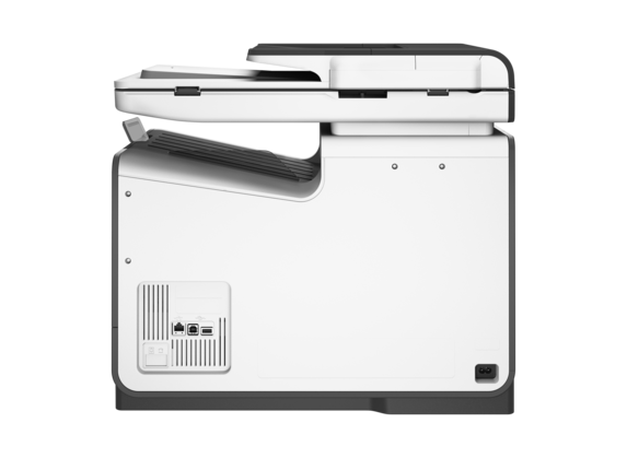 HP PageWide Pro 577dw Multifunction Printer - Rear