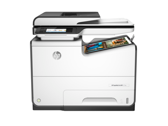 HP PageWide Pro 577dw Multifunction Printer - Center