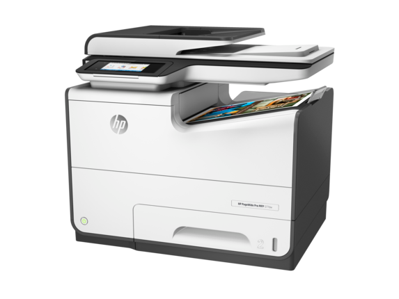 HP PageWide Pro 577dw Multifunction Printer - Left