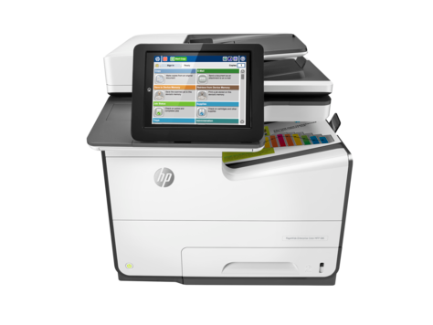 HP PageWide Enterprise 彩色 MFP 586 系列