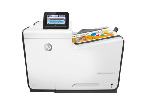 HP PageWide Enterprise 彩色 556 系列