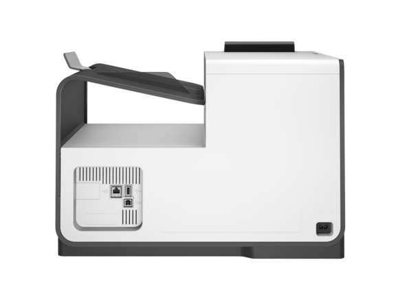 HP PageWide Pro 452dw Printer - Rear