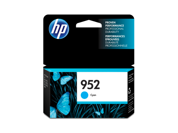 HP 952 Cyan Original Ink Cartridge