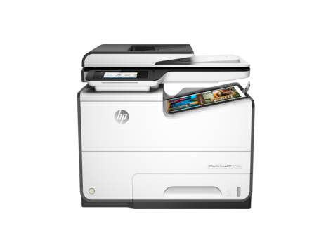 Impresora multifunción HP PageWide Managed Pro serie 577m
