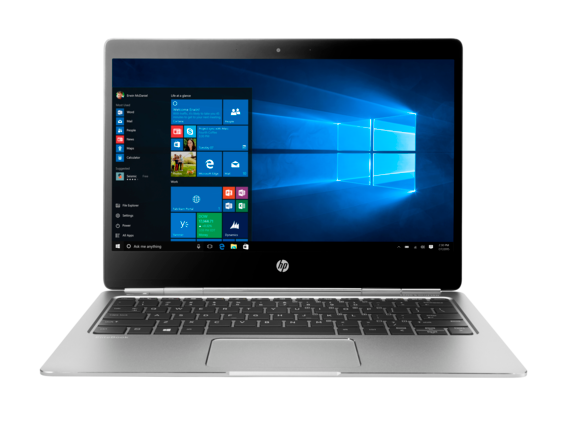 HP EliteBook Folio G1 Notebook PC (ENERGY STAR) - Center