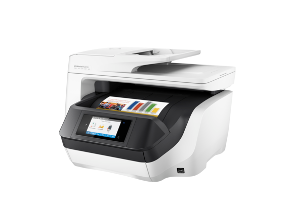 HP OfficeJet Pro 8720 All-in-One Printer - Left