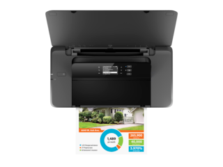 HP OfficeJet 200 Mobile Printer - Img_Top view closed_320_240
