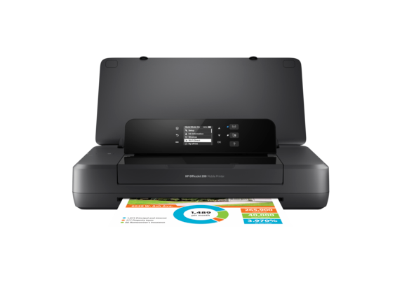 HP OfficeJet 200 Mobile Printer - Center