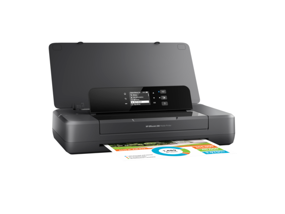 HP OfficeJet 200 Mobile Printer - Right