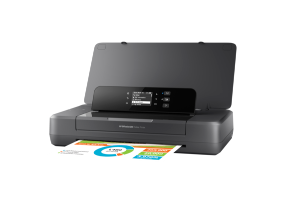 HP OfficeJet 200 Mobile Printer - Left